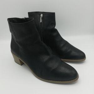 Clarks Bret5 Black Leather Breccan Myth Che